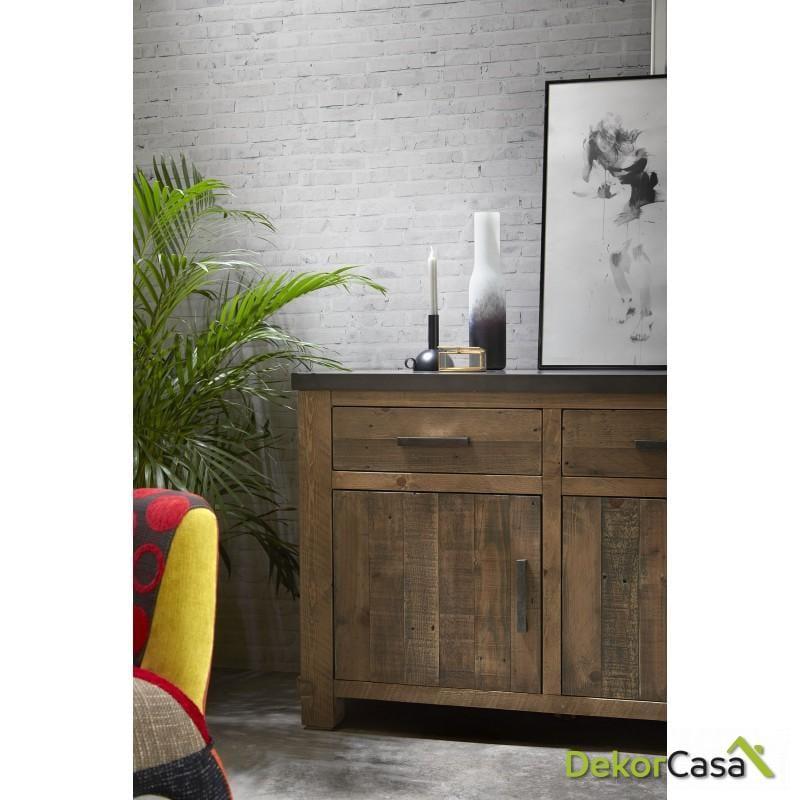 aparador madera maciza de pino 114 dekorcasa detalle