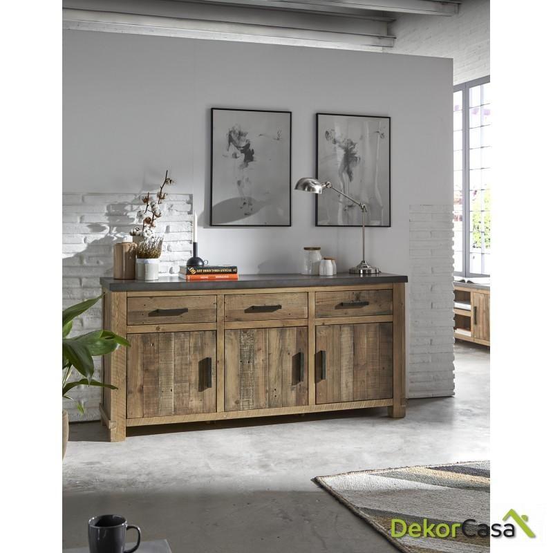 aparador madera maciza de pino 114