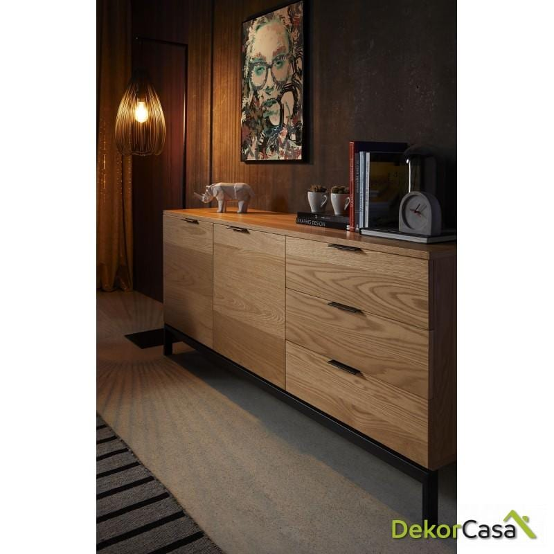 aparador manhattan madera roble dekorcasa