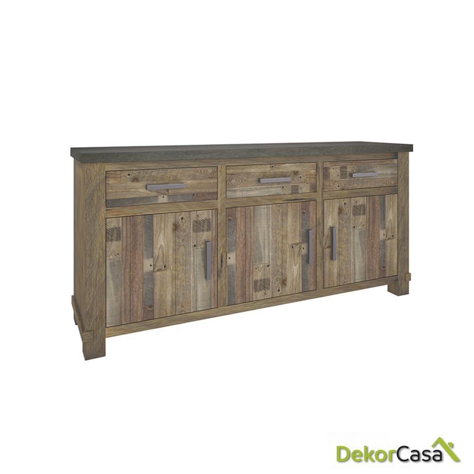 aparador madera maciza de pino 114 1