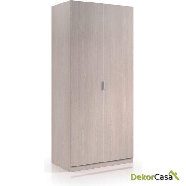 armario de 2 puertas roble