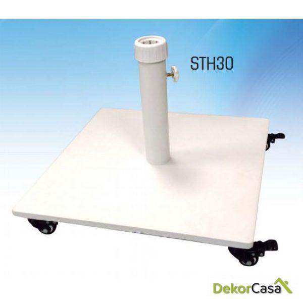 Base con ruedas STH30 para parasol