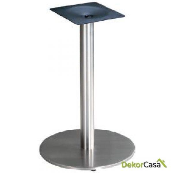 Base de mesa acero inoxidable base redonda