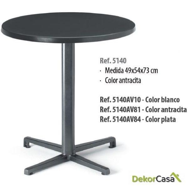 Base de mesa aluminio 49 x 54 x 73 cm