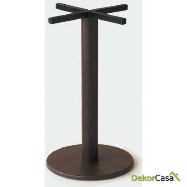 Base de mesa aluminio