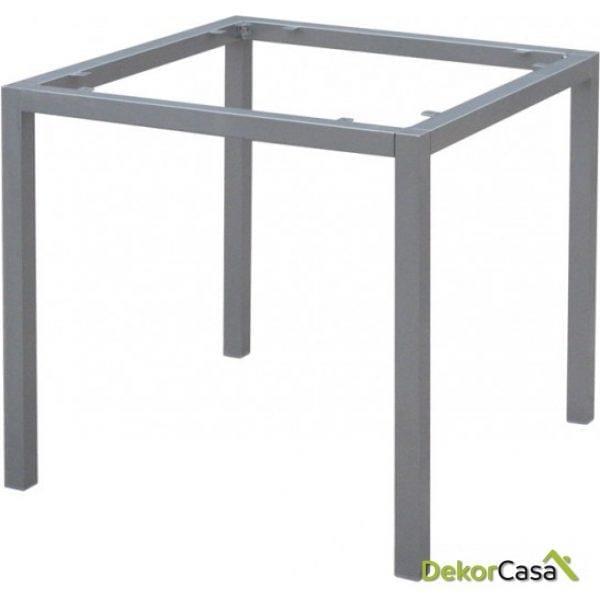 Base de mesa aluminio apilable