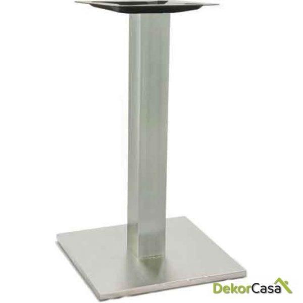 Base de mesa de alumino columna 80x80mm