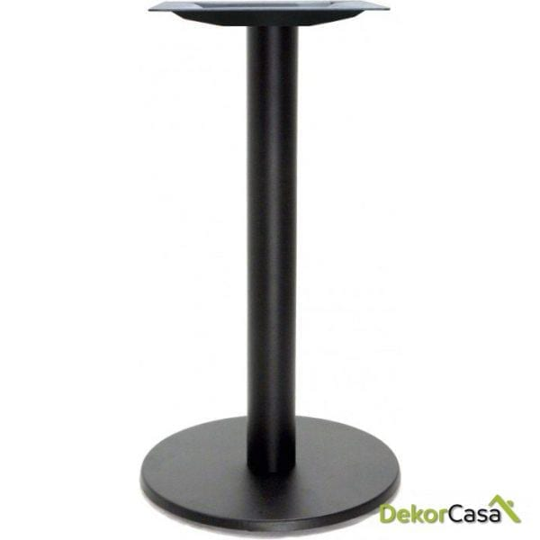 Base de mesa redonda de hierro columna 80x80 mm
