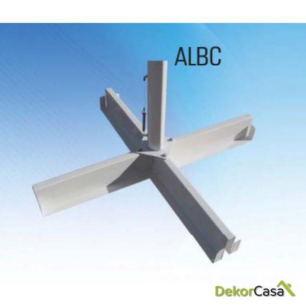 Base en cruz ALBC para parasol