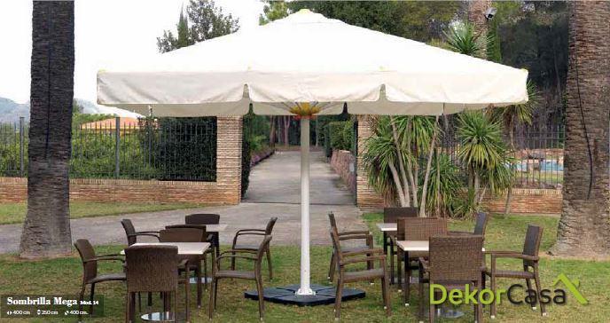 Base para Parasol de aluminio Mega 100 x 100 x 6 cm