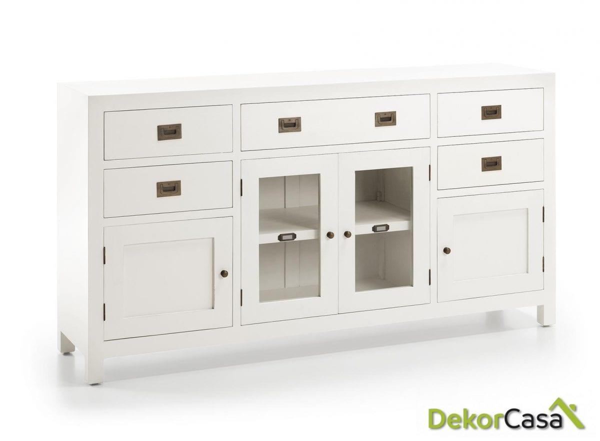 Buffet New White 160 x 40 x 85 cm