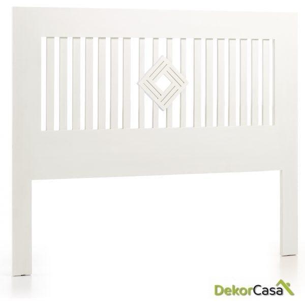 Cabezal New White 165 x 3 x 136 cm