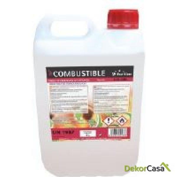 Caja Combustible de origen natural líquido 4 Garrafas 5L