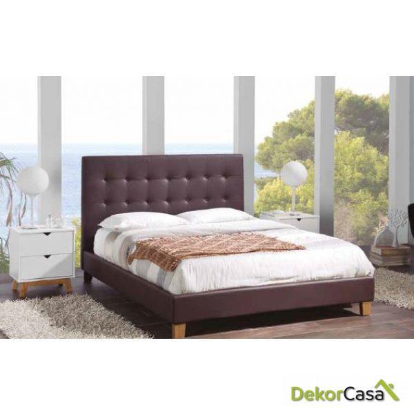 Cama Doma con somier 208 x 149 x 110 cm