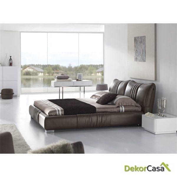 Cama Genova Piel 160 x 190