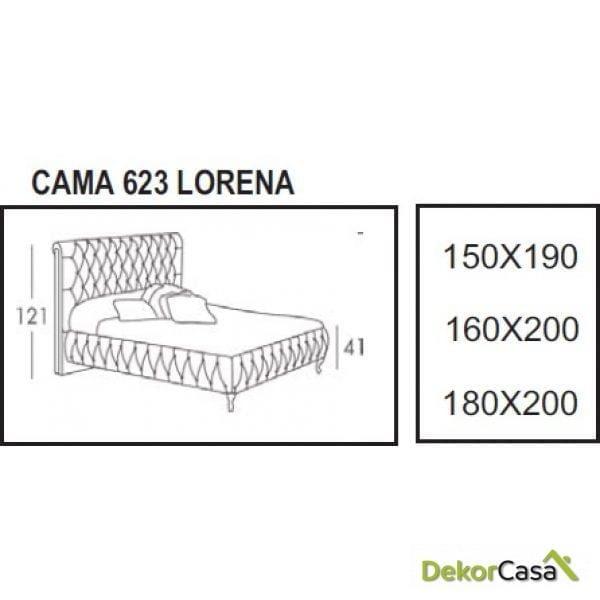 cama lorena dimensiones 1