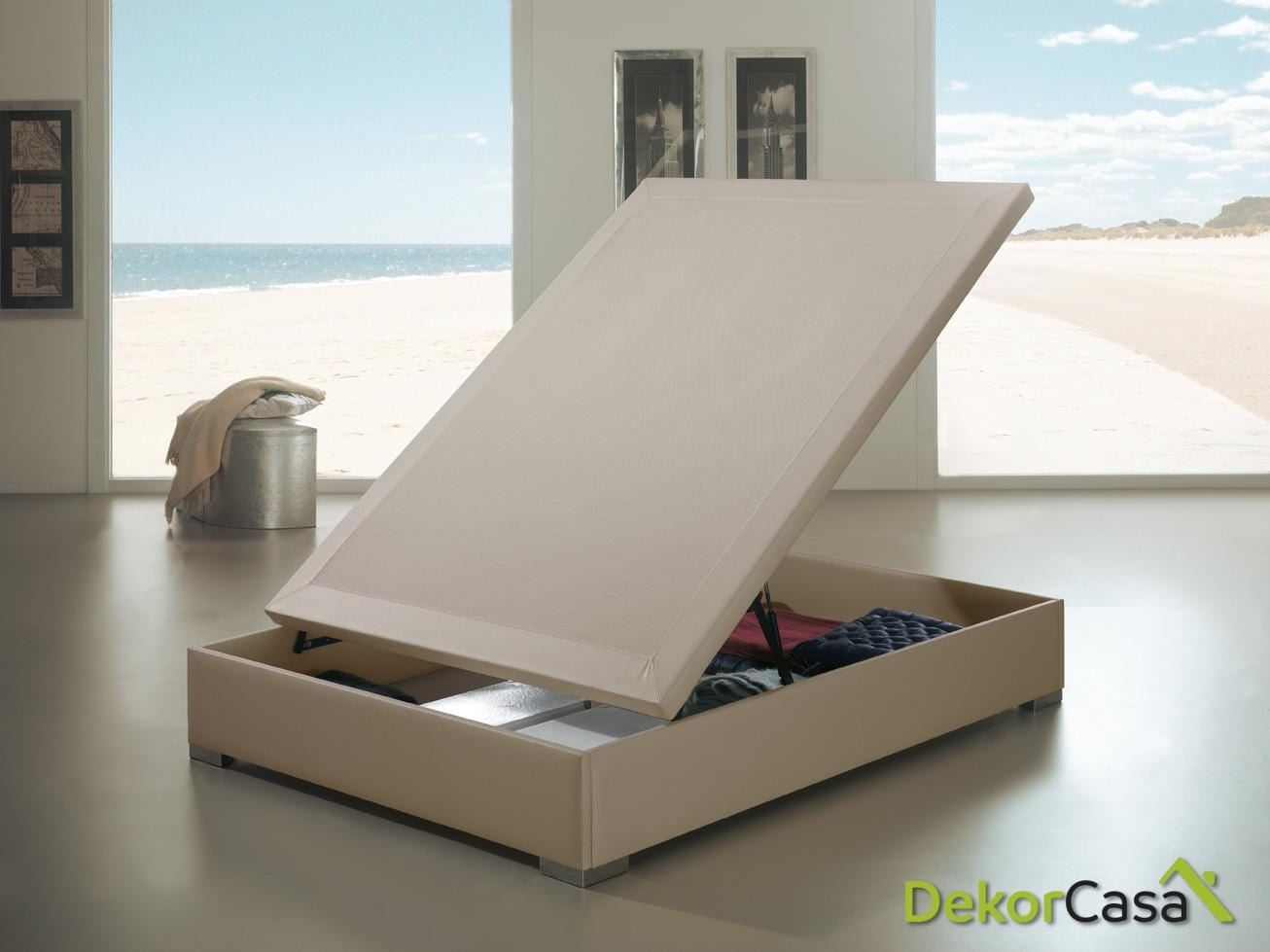 canape abatible montreal luxe beige