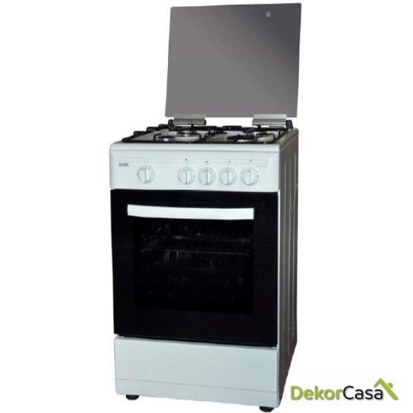 Cocina blanca gas butano svan  SVK5500EB
