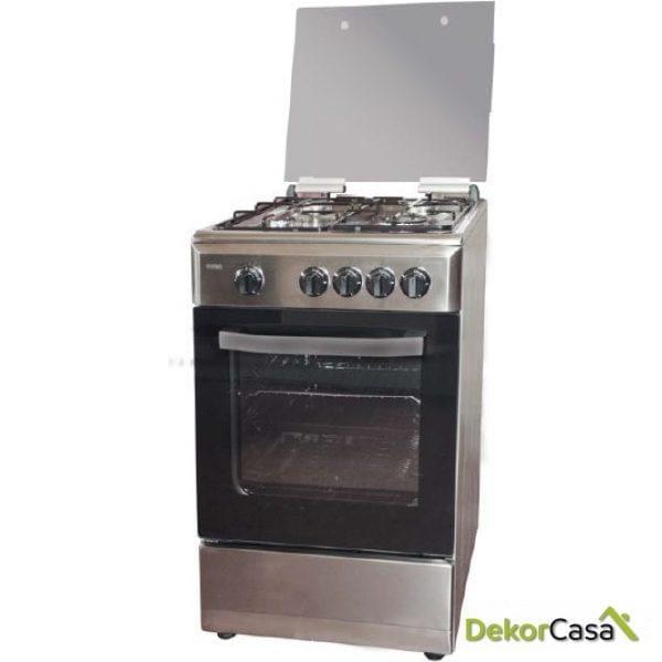 Cocina inox a  gas butano svan  SVK5500EX