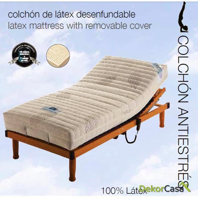Colchón Latex Antiestrés