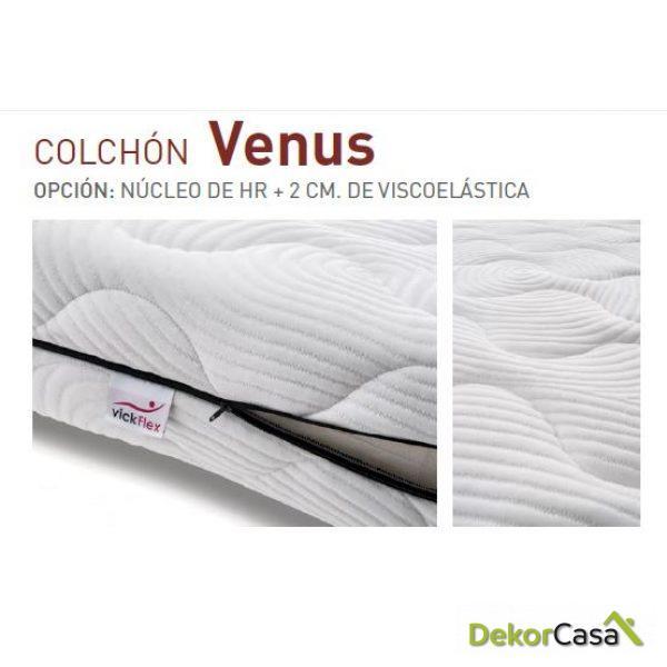 Colchón Venus HR + Visco