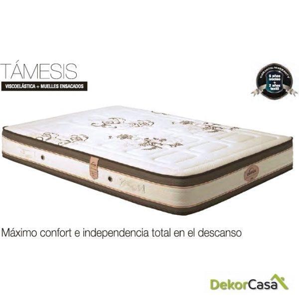 COLCHON VISCO+MUELLES ENSACADOS TAMESIS 2 CARAS