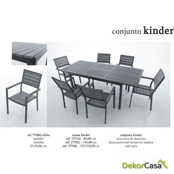 CONJUNTO KINDER