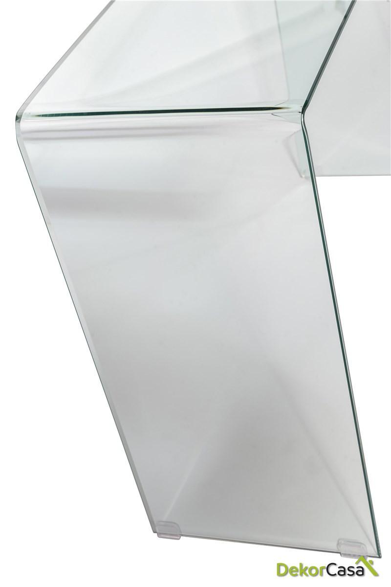 consola cristal transparente 110 cm x 30 x 72 h 3