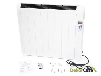 Emisor térmico digital sin fluido con mando a distancia DIS 1500