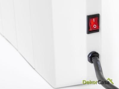 Emisor térmico digital sin fluido con mando a distancia DIS 600