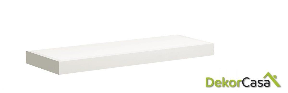 Estante New White pared 90 x 20 x 6 cm