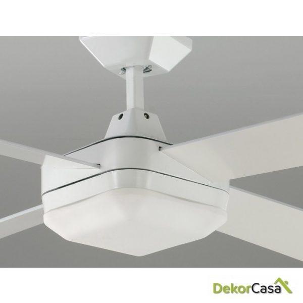 full 50982 bl ventilador techo blanco detalle
