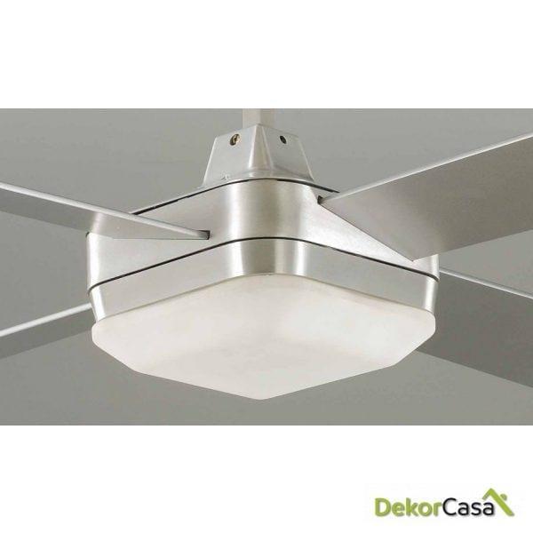 full 50982 cr ventilador techo acero cromado detalle