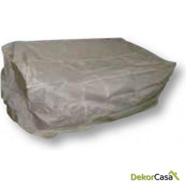 Funda 155 x 90 x 90 cm para sofá de dos plazas