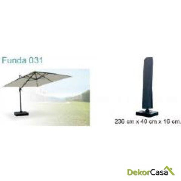 Funda parasol 236 cm 40 cm 16 cm