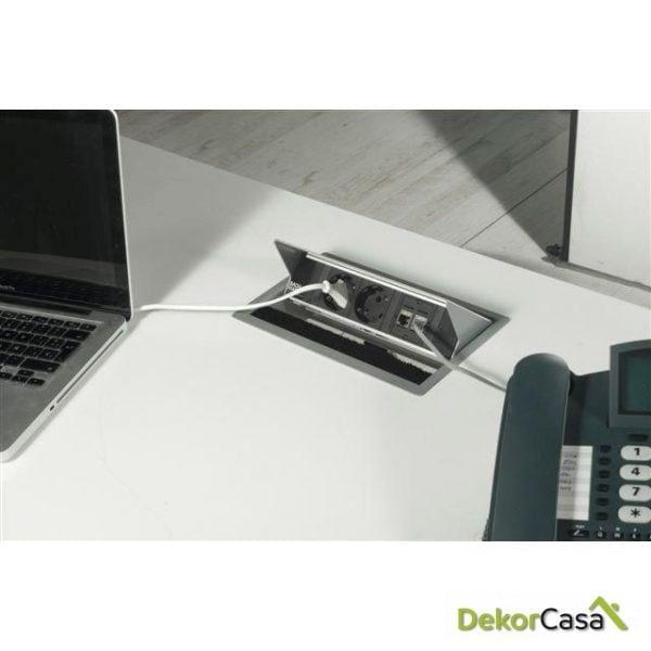 Kit de electrificación para mesa de oficina