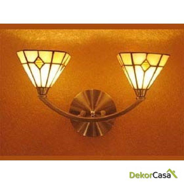 Lámpara aplique de pared Badmington