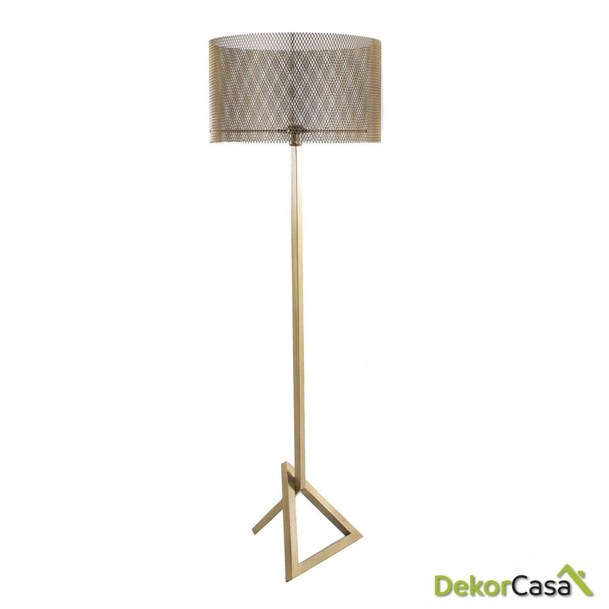 LAMPARA DE PIE REJILLA 52x52x161 cm