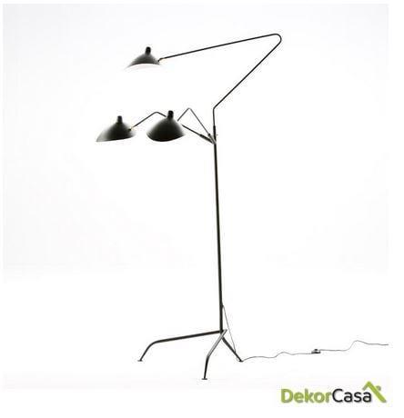 Lámpara de Pie spun con pantalla 155x143x209cm