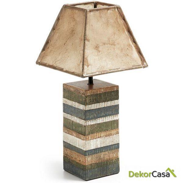 Lámpara de sobremesa Albany 20 x 20 x 45 cm