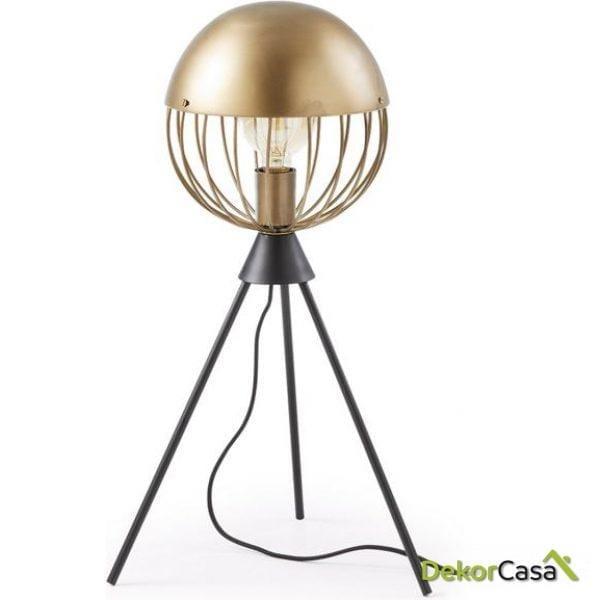 Lámpara de sobremesa Breeza 22 x 22 x 56 cm