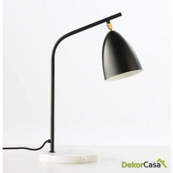Lámpara de Sobremesa marianna con pantalla 37x22x54cm