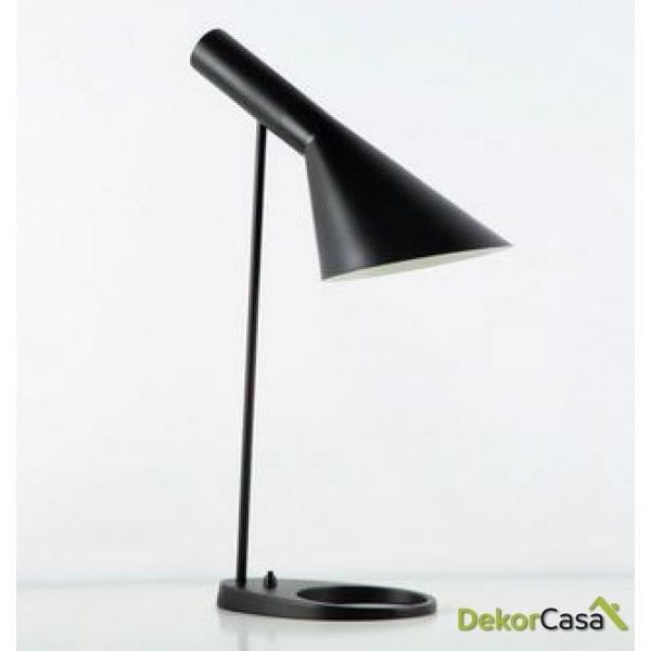 Lámpara de Sobremesa schull con pantalla 35x14x55cm