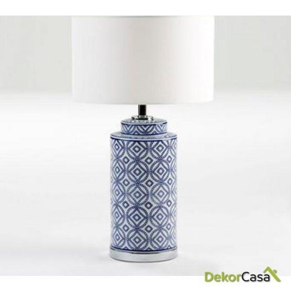 Lámpara de Sobremesa sin pantalla 20x51cm de ceramica
