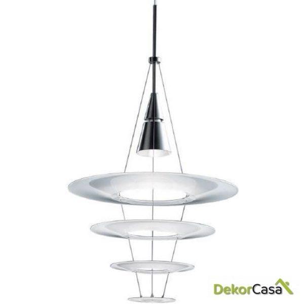Lámpara de techo Magneto 60 x 60 x 45 cm