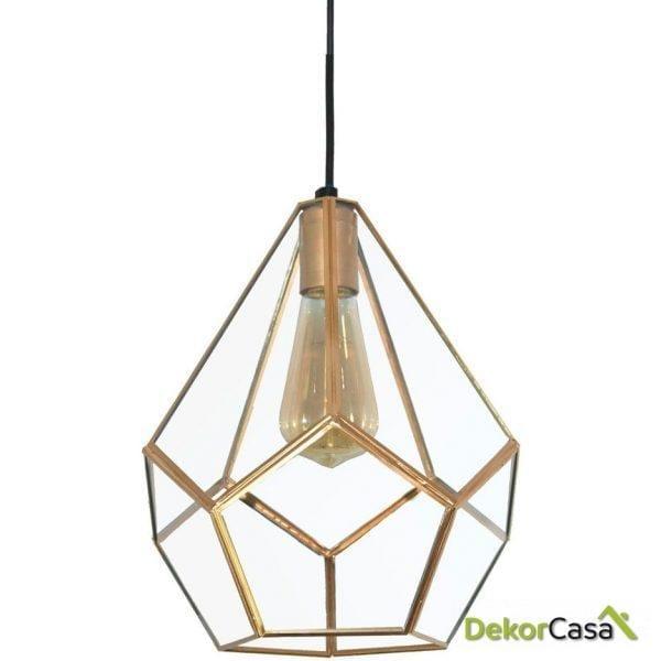 Lámpara  de techo PRISMA GOLD