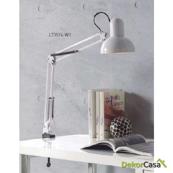 Lámpara flexo LT-3574-W1 42 x 15 x 28 cm