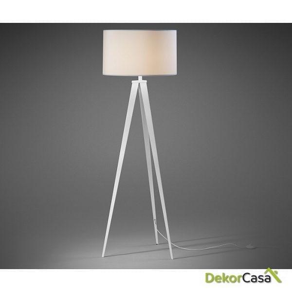 lampara uzagi epoxy blanco pantalla blanco 1