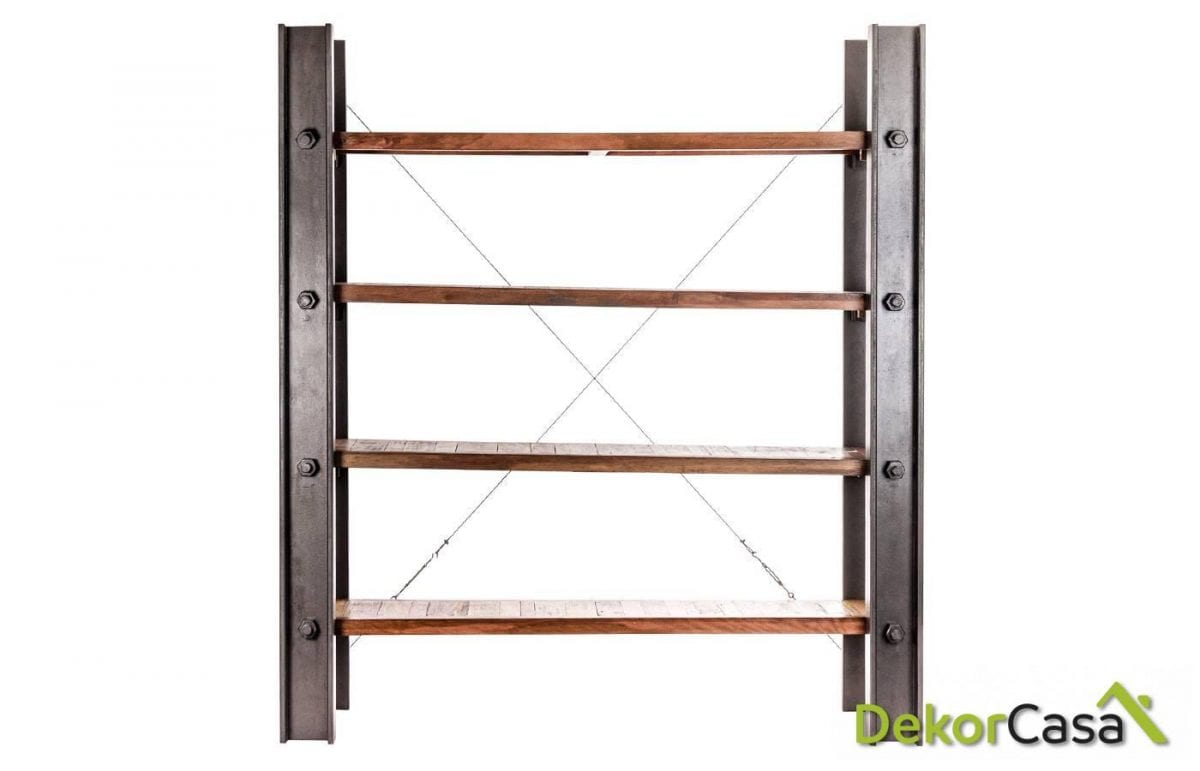 libreria infiniti madera 180x40x200 cm
