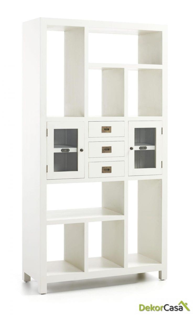Libreria New White 100 x 40 x 190 cm